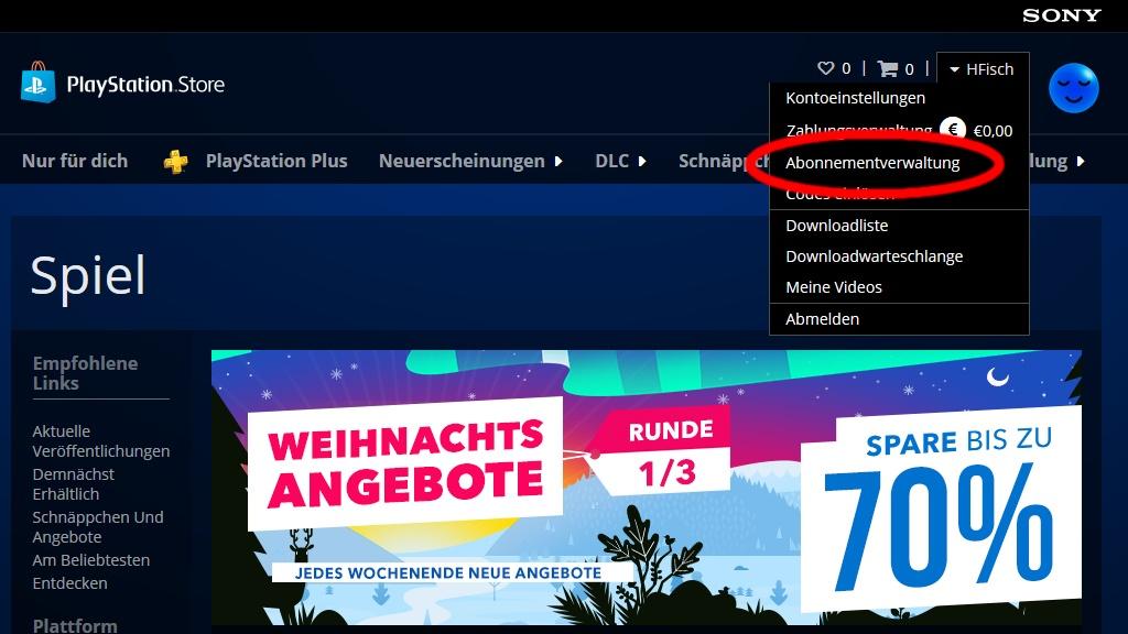 Playstation Now Abo Kündigen
